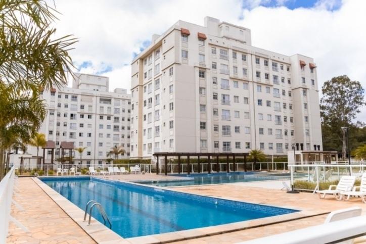 Apartamento 3º Andar 2 Dorm.(1Suíte) 1 Vaga Condomínio Clube Alameda – Santa Quitéria/Campo Comprido – Ref. 8605