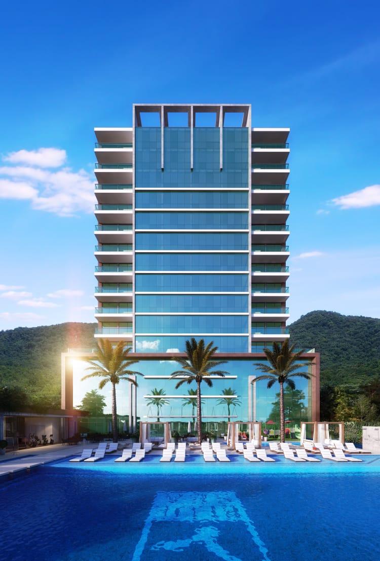 Apartamento Hotel Cota blue Sea Itapema- SC (REF. 8636)