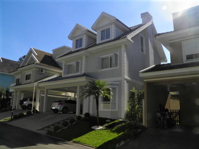 Belíssima Casa em Condomínio Fechado em Santa Felicidade- 285m² Ref. 8630