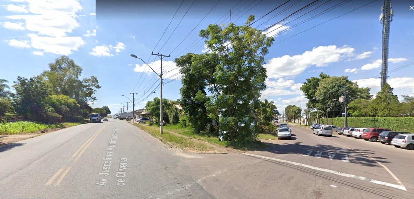 Terreno 302m² ZS1 de Esquina Av. Juscelino Kubitschek De Oliveira – CIC Ref. 8645
