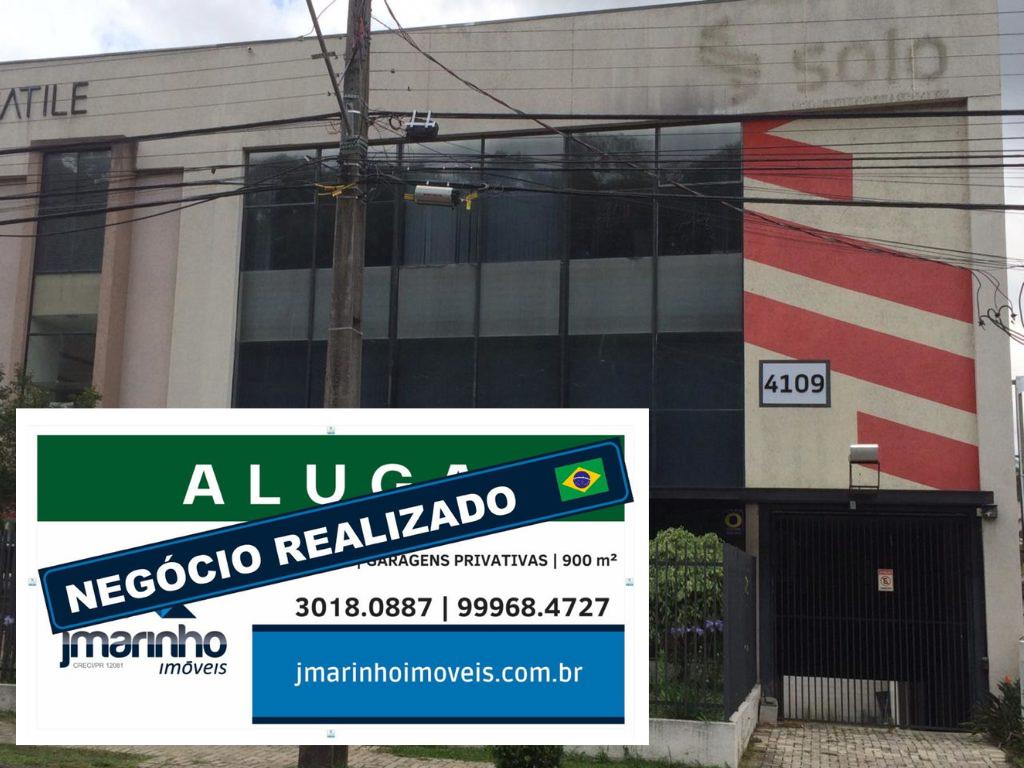Excelente Loja 900m² 3 Pavimentos + Subsolo 14 Vagas Av. Manoel Ribas  Mercês/Santa Felicidade Ref. 8628